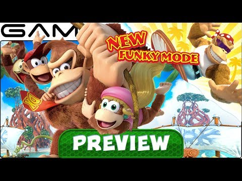 What's New & Different in DKC: Tropical Freeze? - PREVIEW (Nintendo Switch)