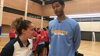 Marquette Women's Basketball Game Two: Sydney All-Stars