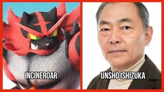 Characters and Voice Actors - Super Smash Bros. Ultimate (Fighters)