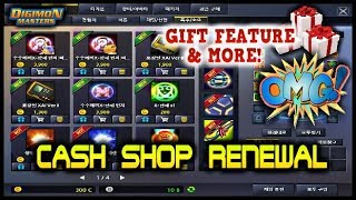 New Interface & Features for the CASH SHOP !!! - Renewal 2018  ||  KDMO