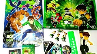 Ben 10 craft kit gift pack and Ben 10 cards