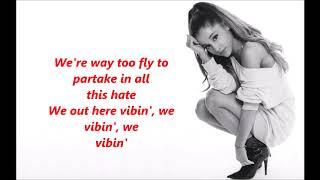 Download Lagu Ariana Grande - No Tears Left to Cry lyrics Gratis STAFABAND
