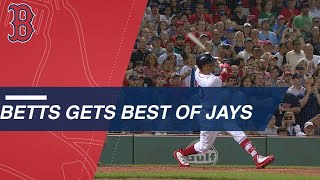 Mookie Betts concludes 13-pitch at-bat with monster grand slam