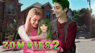 Disney Z-O-M-B-I-E-S 2: Zed and Addison have a Daughter! And she is Half-ZOMBIE! 💚💗 Edit!