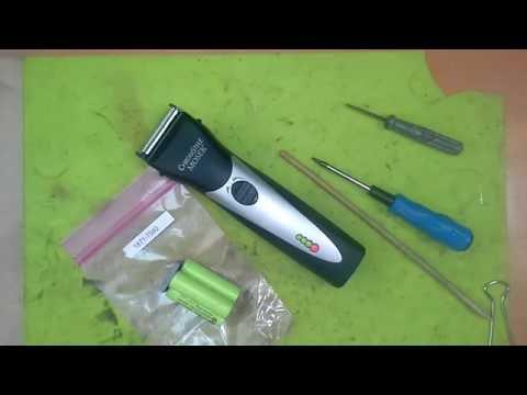 Как заменить аккумулятор на машинке для стрижки волос Moser Chrom Style 1871