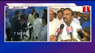 Minister Etela and Mayor Bonthu Rammohan Launches Property Show in Shilpakala Vedika  Telugu