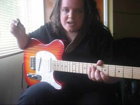 Reggae Guitar Lesson pt5 muting the strings