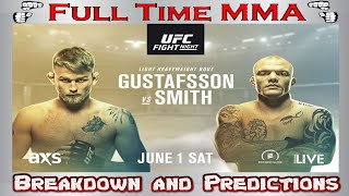 UFC Stockholm: Alexander Gustufsson vs Anthony Smith - Breakdown and Predictions