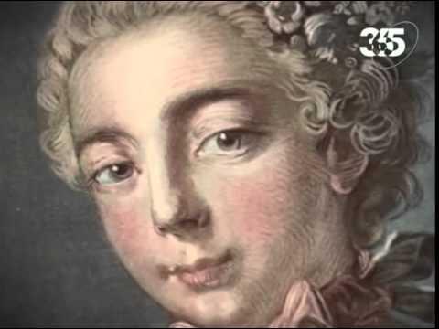 Людовик 15 и мадам Де Помпадур.