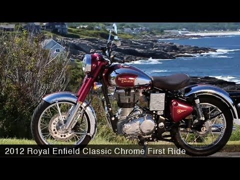 MotoUSA First Ride: 2012 Royal Enfield Classic Chrome