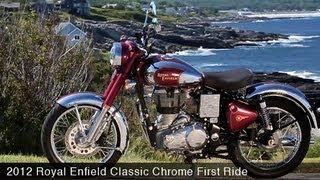 MotoUSA First Ride: 2012 Royal Enfield Classic Chrome