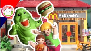 Playmobil Ghostbusters in McDonalds - Playmobil filmpje Nederlands familie Huizer