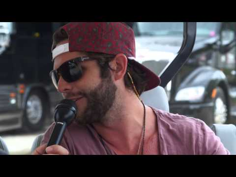 Thomas Rhett Interview At 2014 Kicker Country Stampede video