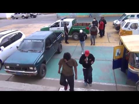 SERENAZGO CAJAMARCA - Operativo/Drogadictos/Yaris robado/ 21-10-14