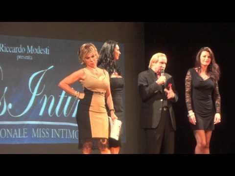 Miss Intimo 2013 Carmen Russo Presenta Finale a Roma