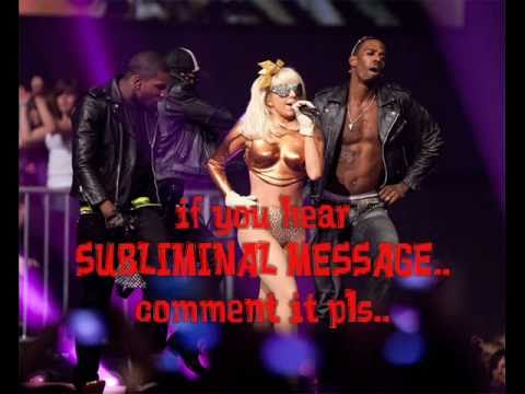 lady gaga - BORN THIS WAY subliminal message/hidden message/backmasked w/lyrics