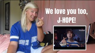 A Video to Watch When You're Sad: J-Hope Version ( BTS REACTION VIDEO)