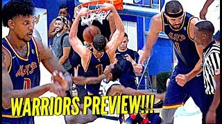 JaVale McGee SHOOTING THREES Now Like Swaggy P!! Warriors Duo DOMINATE at The Drew!