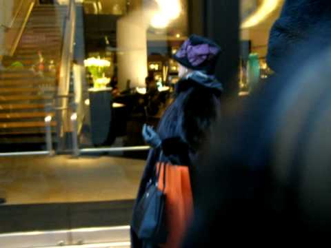Fur Hag shamed on 5th Ave, New York City