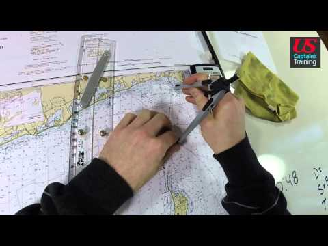 Captain License Chart Navigation – Estimated Time of Arrival Practice Problem 1