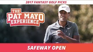 2017 Fantasy Golf Picks: Safeway Open DraftKings Picks, Preview and Sleepers