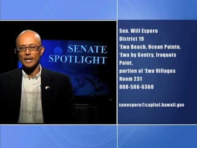 Senate Spotlight: Featuring Senator Will Espero