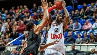Highlights Lokomotiv Kuban – Ratiopharm Ulm. Eurocup 26.10.2016
