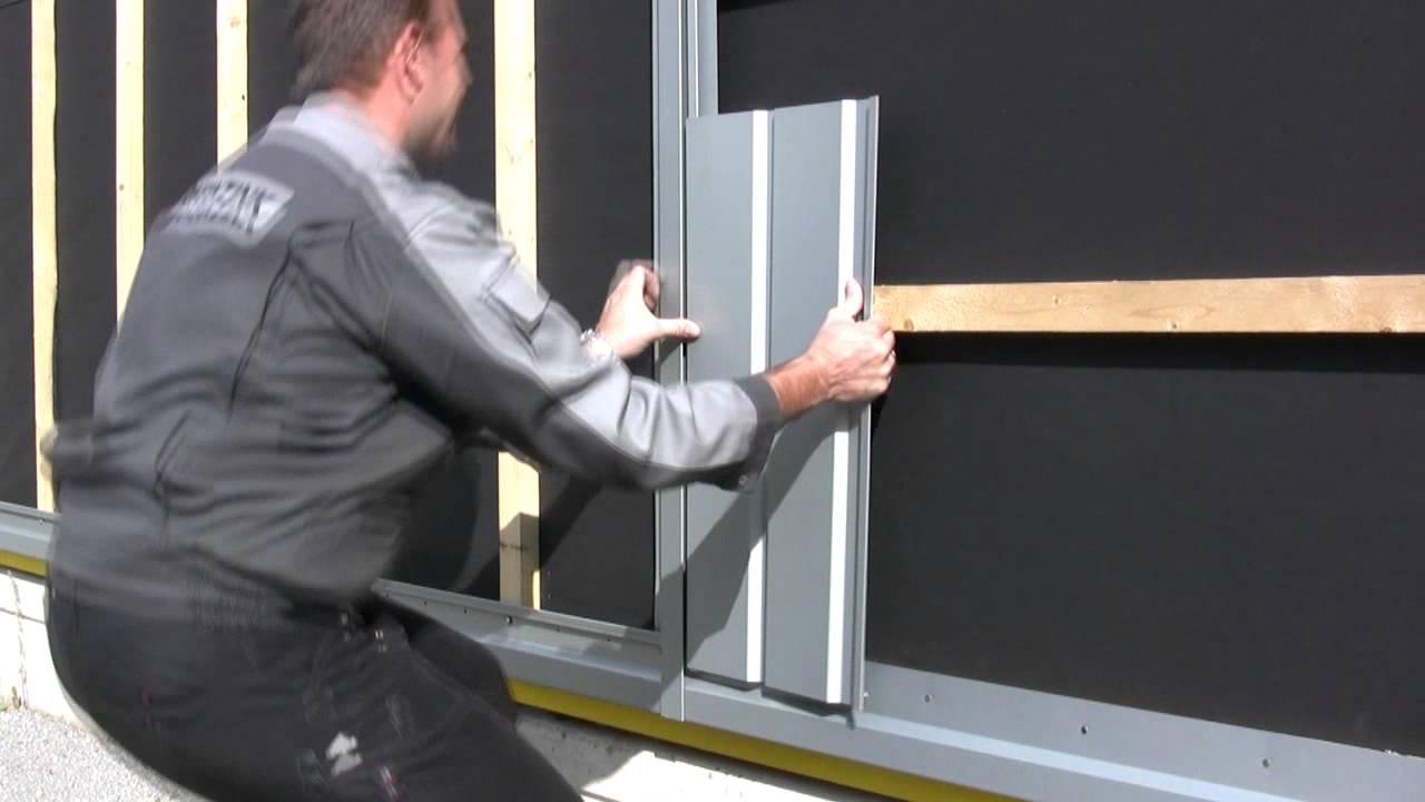 Rheinzink Sp Line Facade Cladding Installation Guide
