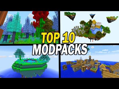 Top 10 Best Minecraft Modpacks 2021