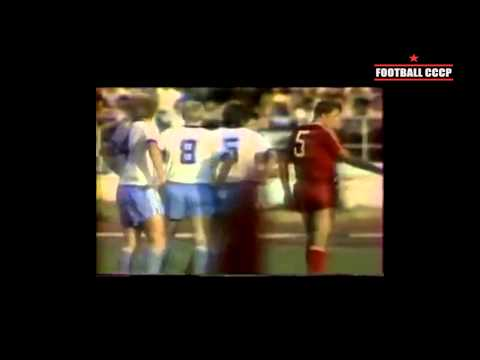 21 тур Чемпионат СССР 1987 г. Кайрат Алма Ата - Динамо Киев 1-1