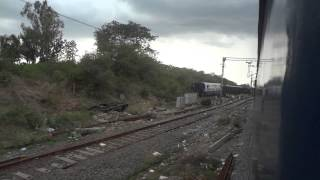 TRAIN ACCIDENT REMAINS AT CHITTERI