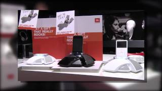 JBL OnStage III Micro et OnStage 4 : dock iPod, iPhone et iPod Touch transportables (IFA 2010)