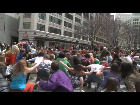 Official Seattle Glee Flash Mob Video - Seattle, Westlake