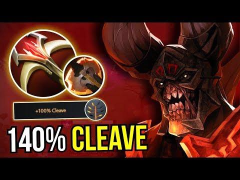 DOOMSDAY - Cleave Master Doom Battle Fury + Talent 7.09 Dota 2 | Upside Down 47