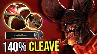 DOOMSDAY - Cleave Master Doom Battle Fury + Talent 7.09 Dota 2   Upside Down 47