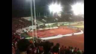 Aksi Tribun Selatan Manahan Solo Laga Timnas Indonesia vs Filipina