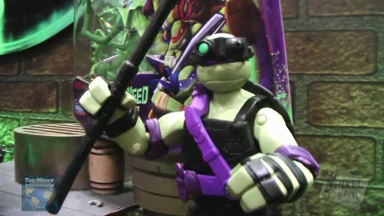 Teenage Mutant Ninja Turtles Toys 2013 : Toy fair playmates teenage mutant ninja turtles