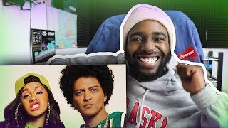 Download Lagu REACTING TO Bruno Mars - Finesse (Remix) [Feat. Cardi B] (Official Video) Gratis STAFABAND