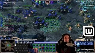 [Starcraft 2 Brutal Co-op] Vorazun literally slices through everything at level 3 on brutal.
