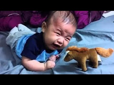 Baby scared videos compilation| 2017|baby scared and cries
