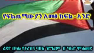 Ya Palestine Ya Netsenet Ye Feteh Tiyeke Part 8 - የፍልጤማውያን አመፅ