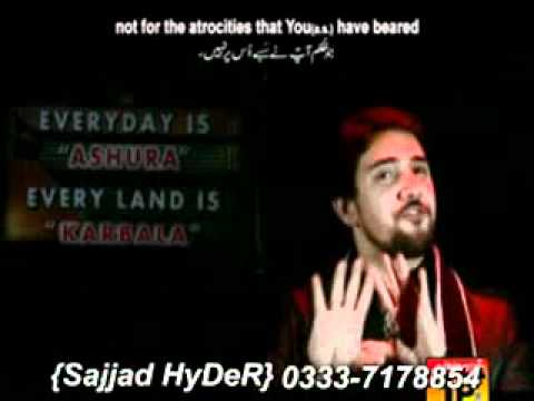 Nohay Sy  Ed Farhan Ali(ali Waris) 2011-2012-we Adore You Hussain(a.s) video
