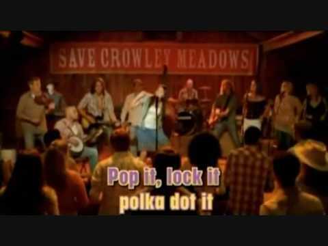 Miley Cyrus - Hoedown Throwdown (with Corrent Lyrics Karaoke Version) - Hannah Montana: The Movie video