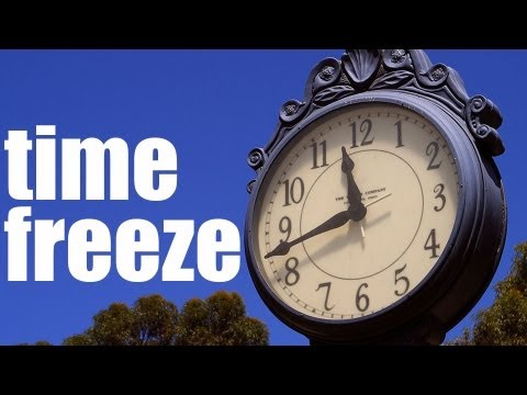 Sony Vegas Pro: Freeze Time