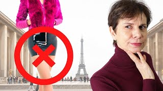 7 Things Not To Wear In PARIS ⎢French Chic
