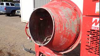 Multiquip Cement Mixer up for Auction June 9th, 2018