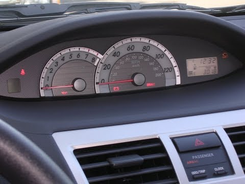 How to Reset the Maintenance Light on a Toyota Yaris - YouTube