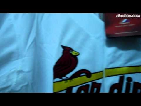 St Louis Cardinals #7 Matt Holliday Home Cool Base Jersey at NBASHOE