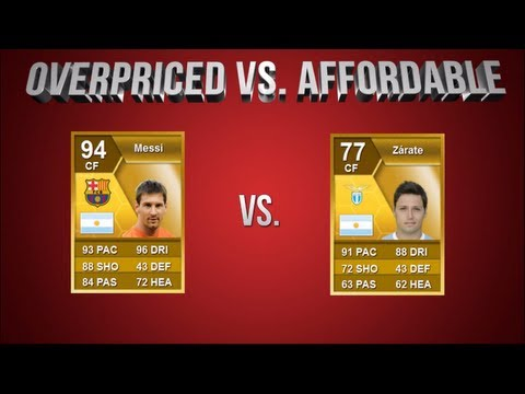 FIFA 13 | OverPriced vs Affordable EP 4: Messi vs Zarate (With CapGunTom)