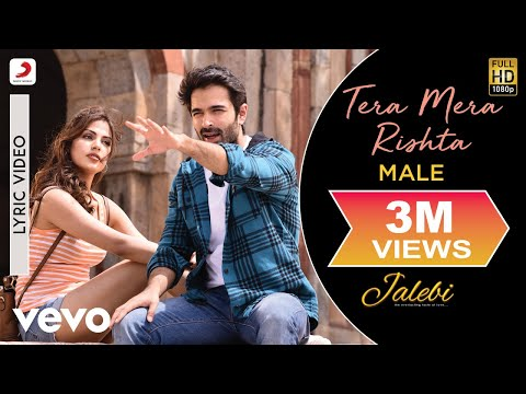 Tera Mera Rishta (Male) - Official Lyric Video| Varun & Rhea | KK | Tanishk Bagchi